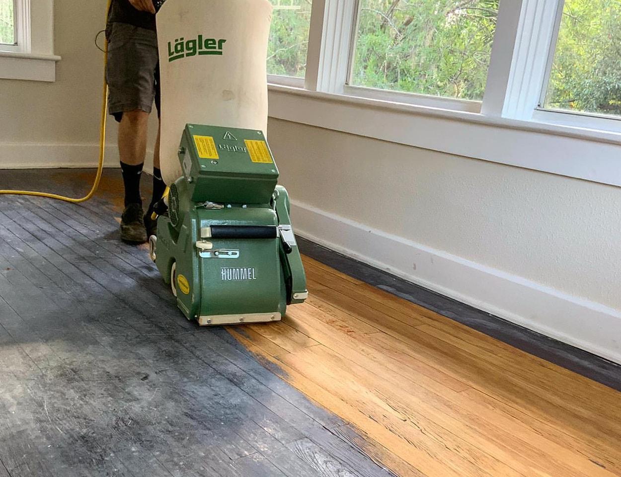 Dustless Hardwood Floor Sanding Bells TN